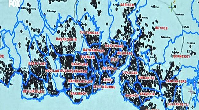 İstanbul'un koronavirüs haritası açıklandı