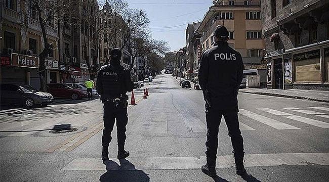 Türkiye'de 31 ilde 3 gün sokağa çıkma yasağı