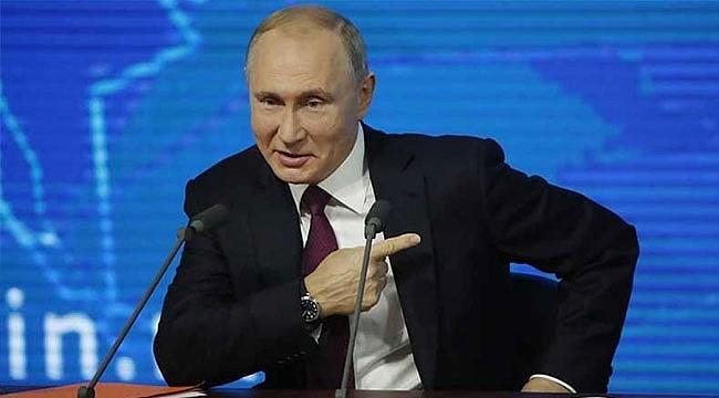 Putin'den ABD Büyükelçiliği'ne LGBT göndermesi