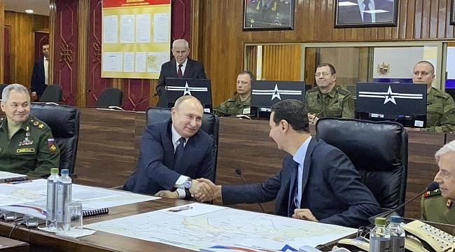 Putin: Suriyeliler evlerine dönüp ülkelerinin inşasına başlayabilir