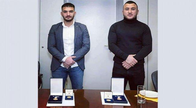 Avusturya'da kahraman Türk gençlerine şeref madalyası