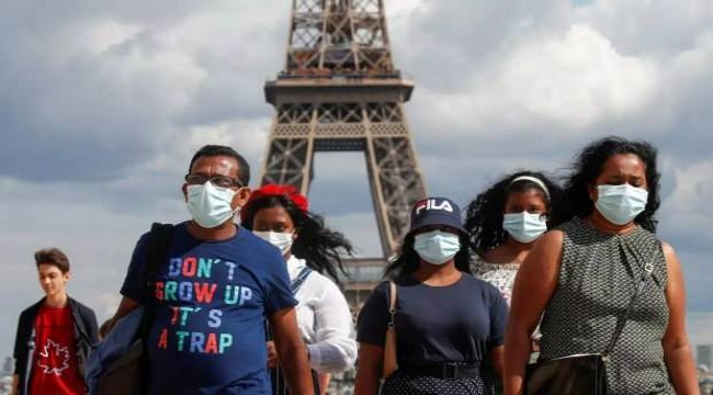 Fransa'da son 24 saatte koronavirüsten 150 ölüm