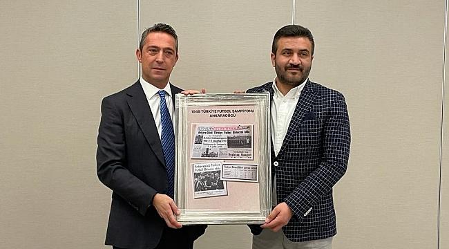 Ali Koç, 1959 öncesi şampiyon olan kulüplerin başkanlarıyla görüştü