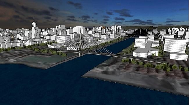 Kanal İstanbul Sazlıdere Köprüsü'nün temeli atıldı