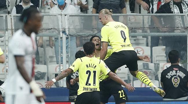 Beşiktaş 1-2 Borussia Dortmund - GENİŞ ÖZET