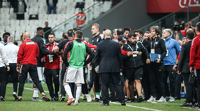 Beşiktaş-Adana Demirspor maçında PFDK'ya sevk edilen isimler