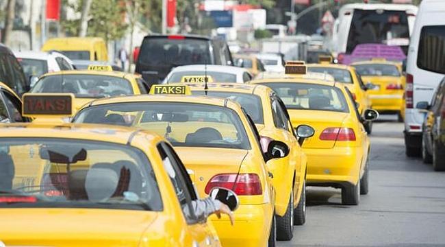 Taksilerde yaş sınırı 68'e yükseltildi
