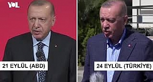 Cumhurbaşkanı Erdoğan'ın iki farklı Joe Biden yorumu